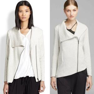 Helmut Lang Villous asymmetrical jacket